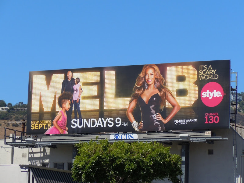 Mel B It's a Scary World TV billboard
