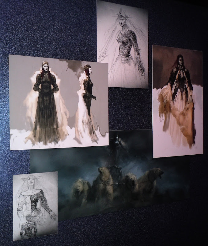Narnia White Witch concept sketches