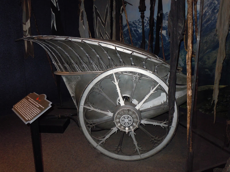 Narnia's White Witch battle chariot