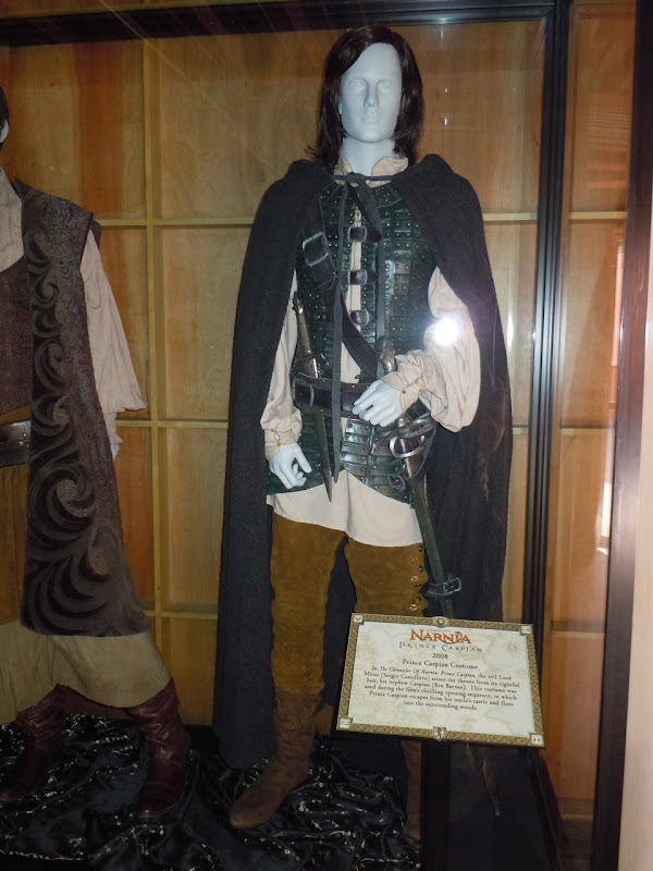 Ben Barnes Prince Caspian movie costume