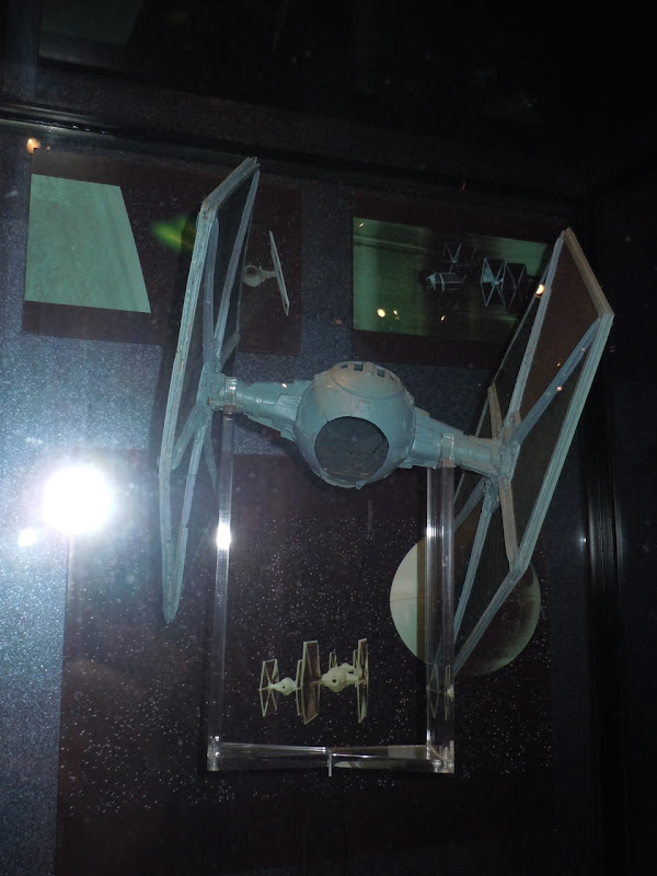 Star Wars TIE Fighter movie prop