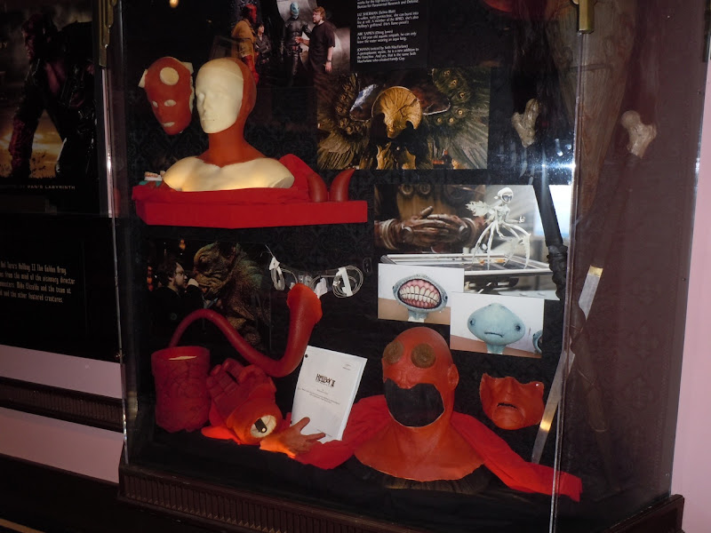 Hellboy 2 special effects display