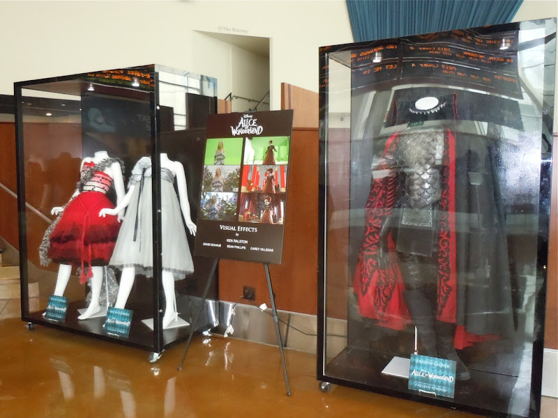 Alice in Wonderland movie costumes