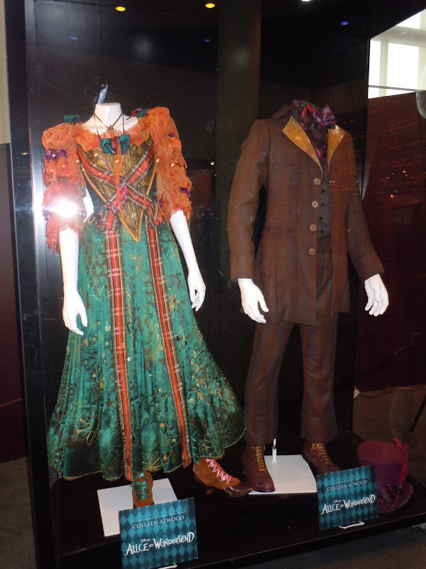 Original Alice in Wonderland movie costumes