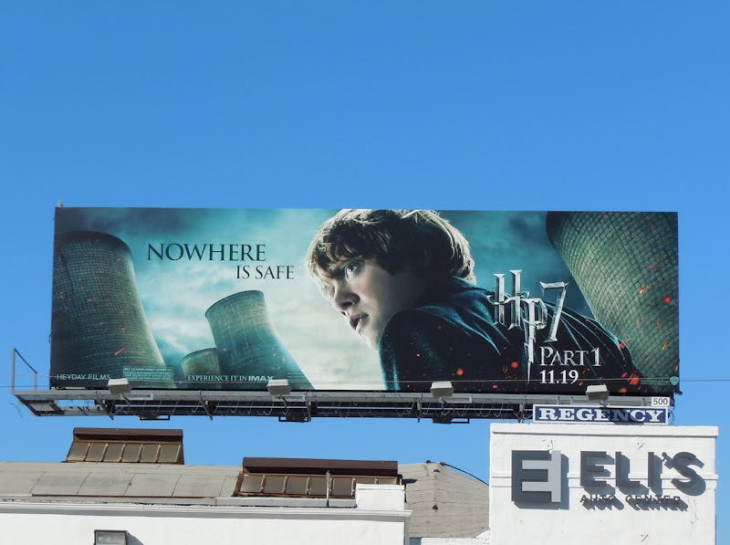 Ron Weasley Harry Potter 7 movie billboard