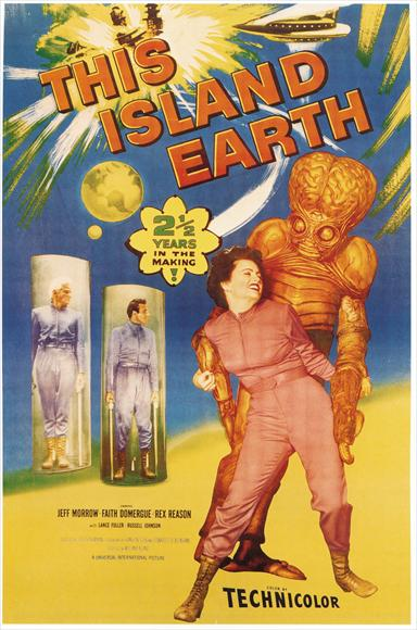 This Island Earth film poster