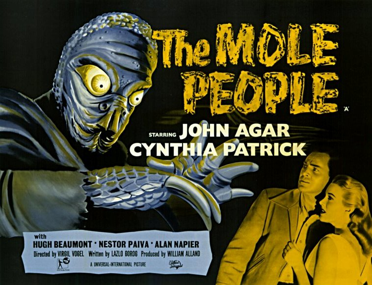 The Mole People movie poster