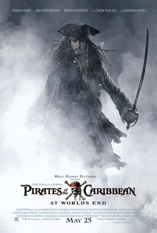 Pirates At World's End movie poster