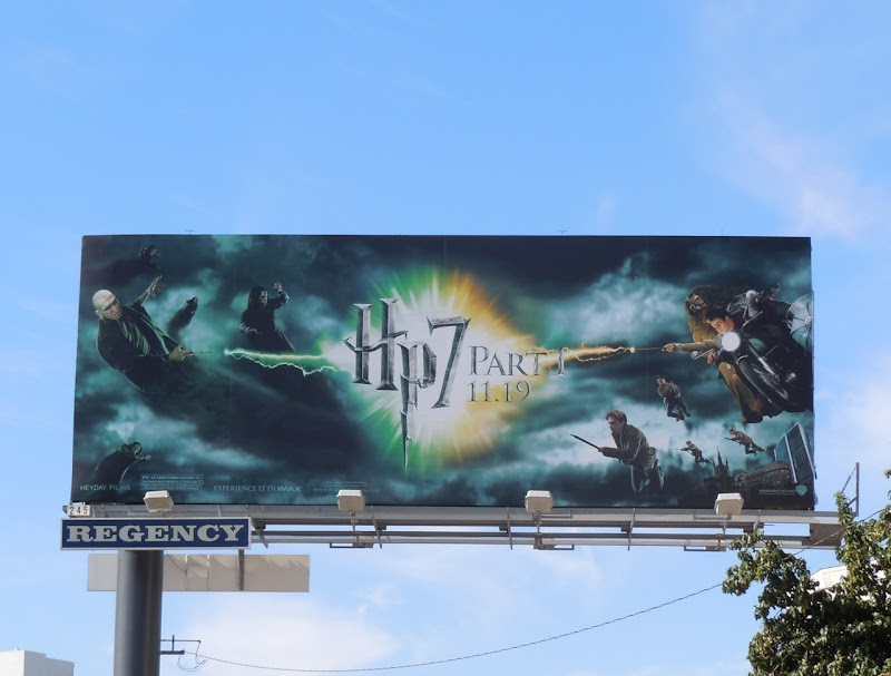 Harry Potter 7 movie billboard