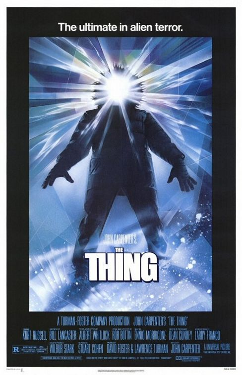 John Carpenter's The Thing movie poster