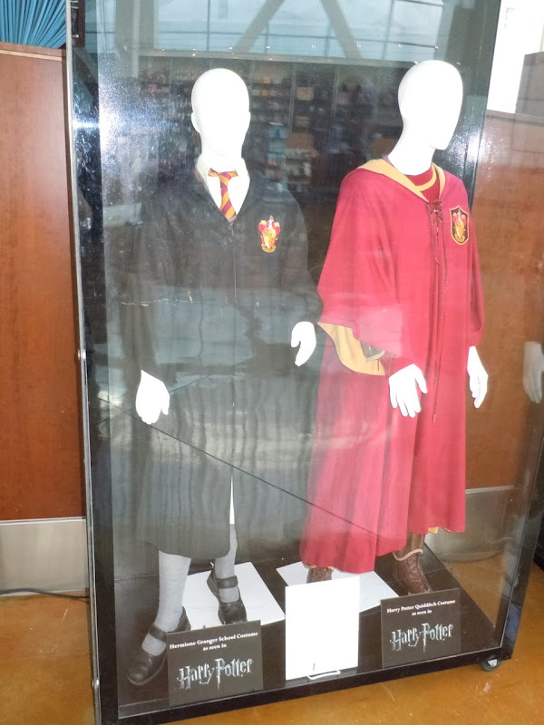 Actual Harry Potter movie costumes
