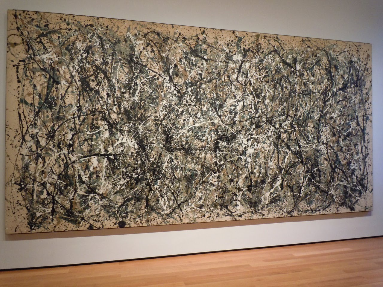 jackson pollock's number 1 1950 lavender Also on view are paintings and works on paper by pollock from the gallery s collection, including number 1, 1950 (lavender mist) (1943) by jackson pollock.