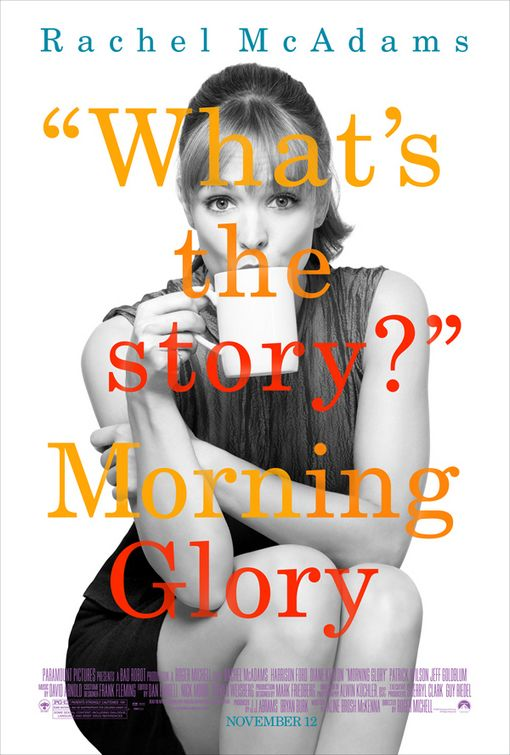 Rachel McAdams Morning Glory poster