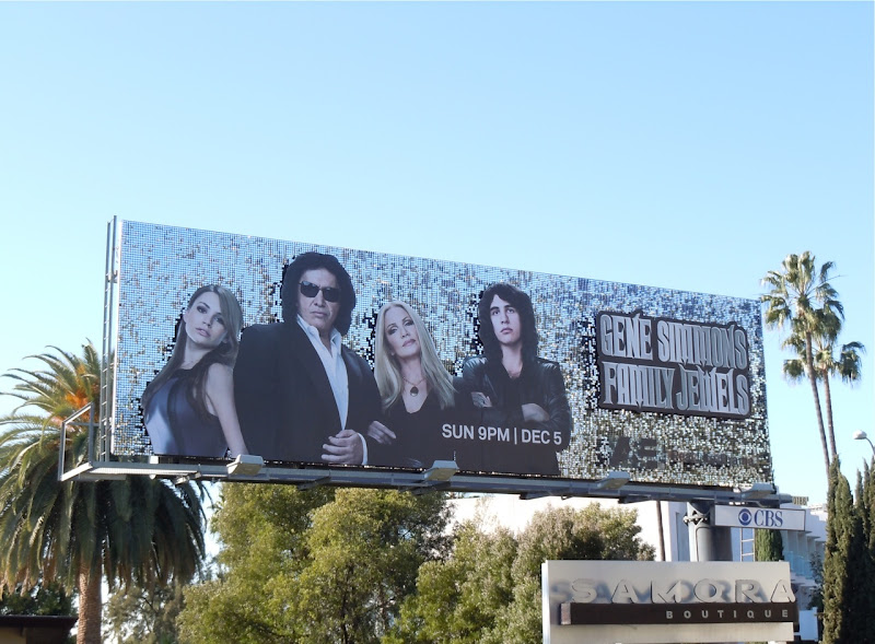 Gene Simmons Family Jewels season 5 billboard