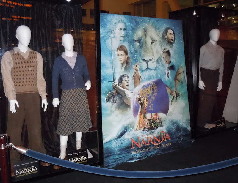 Narnia Dawn Treader movie costumes