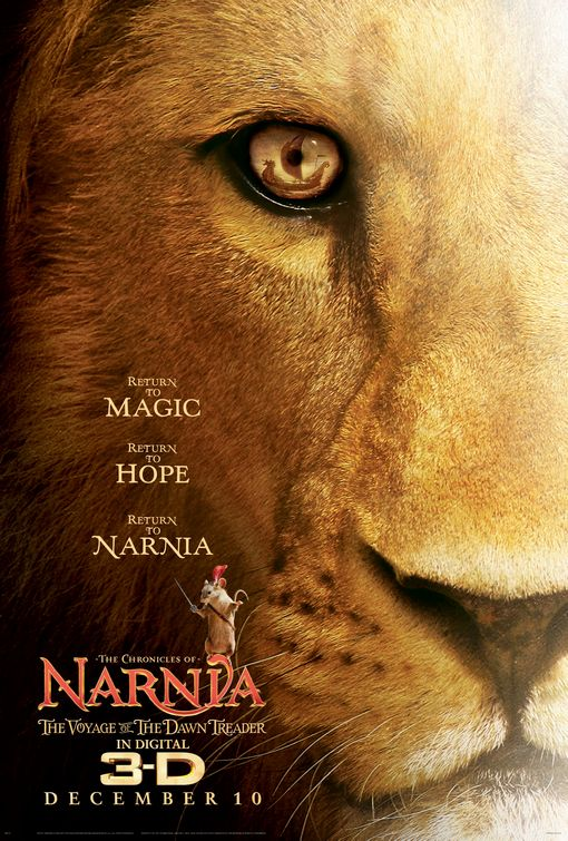 Narnia Dawn Treader film poster
