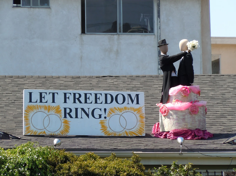 Let freedom ring California