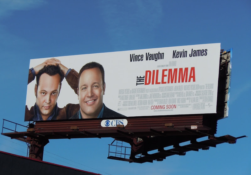 The Dilemma movie billboard