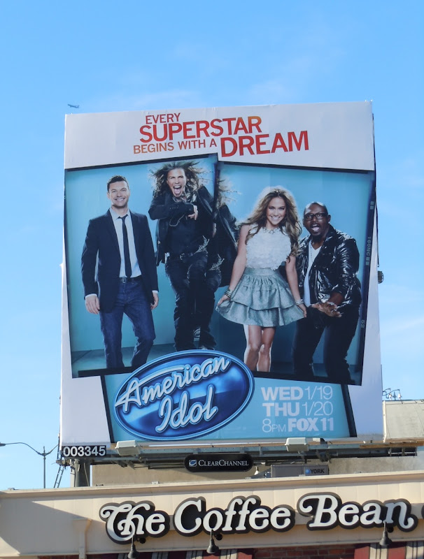 American Idol Superstar billboard