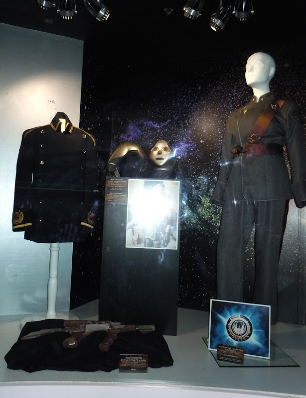 Sci-fi TV costumes and props