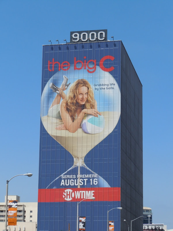 The Big C TV billboard