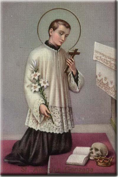 A Catholic Life: St. Aloysius Gonzaga
