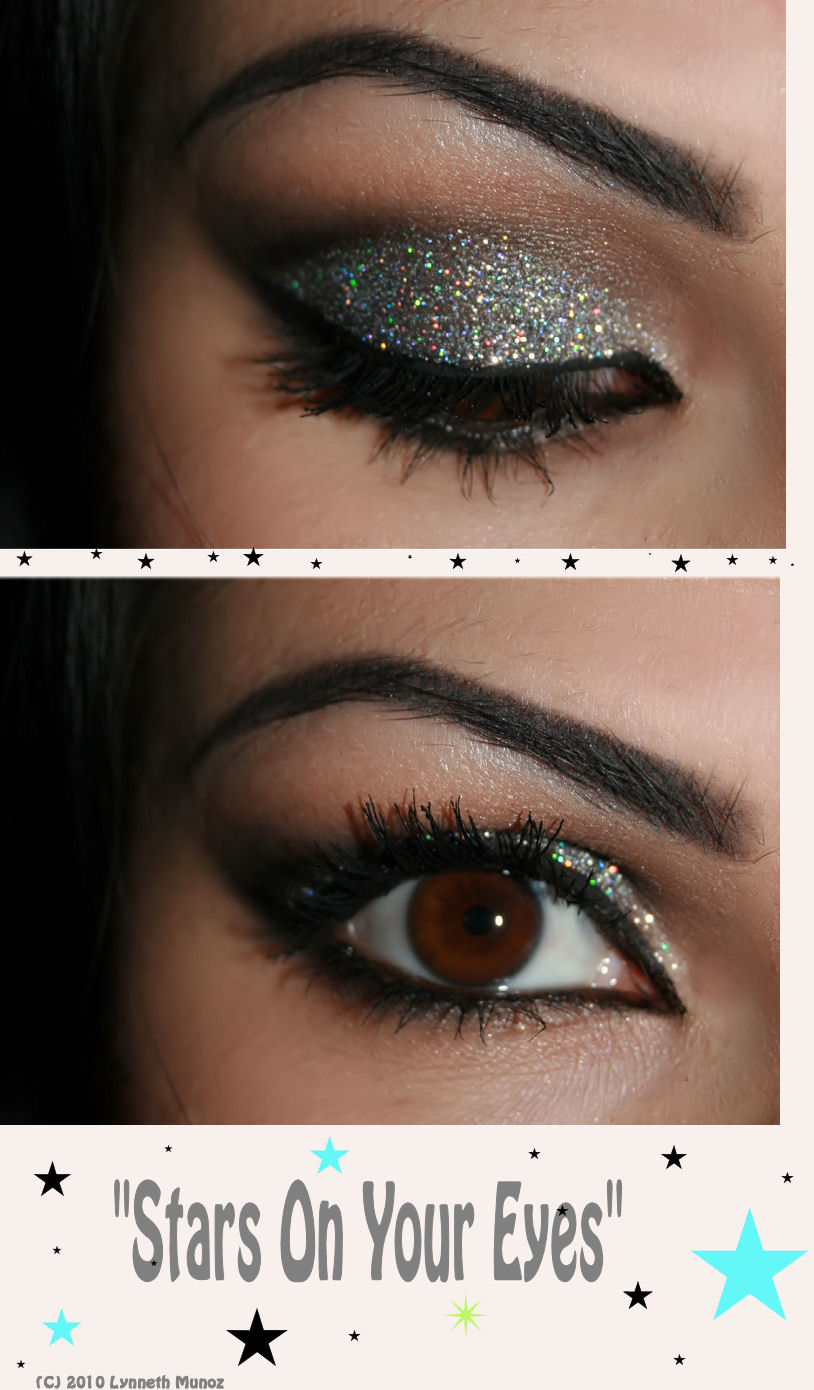 "Eye Shadow Tutorial For Beginners: Make-up Artist Me!: ""STARS ON YOUR EYES"" Make-up Tutorial"