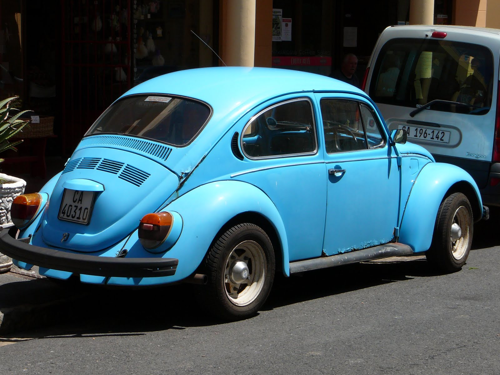 Old Punch Buggy Car