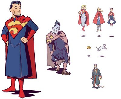 Joel Priddy's Superfamily redesign