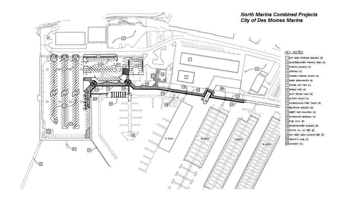 Des Moines Marina Project News