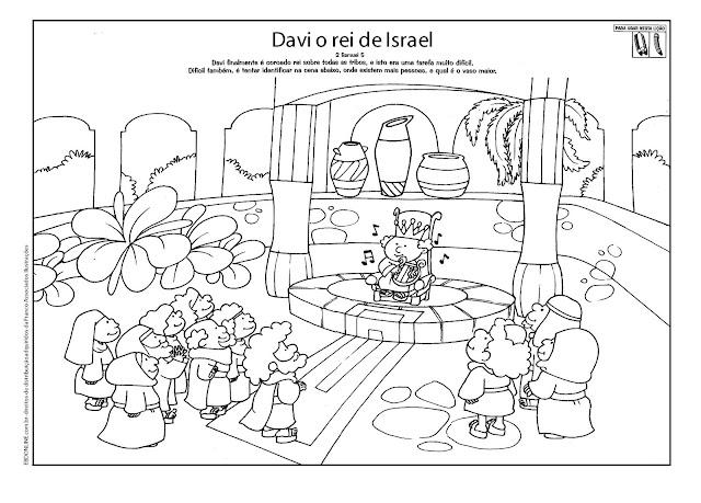 Resultado de imagem para Davi toca para o rei Saul para crianças