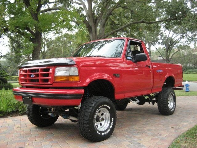 Lifted Ford Trucks And Lifted Trucks   Used Old Ford Trucks
