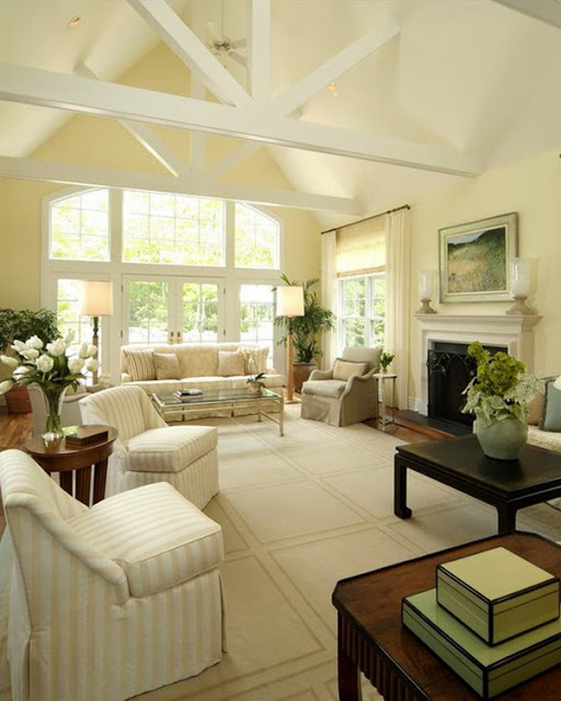 Cozy Minimalist Living Room: Creative Living Room Perspective Interior Design Ideas By