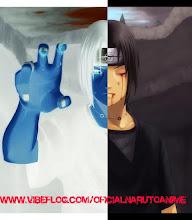 Itachi Uchiha Numa Luta contra Naruto
