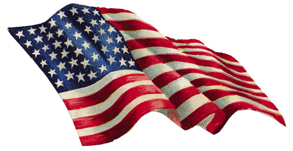 free animated clip art american flag - photo #45