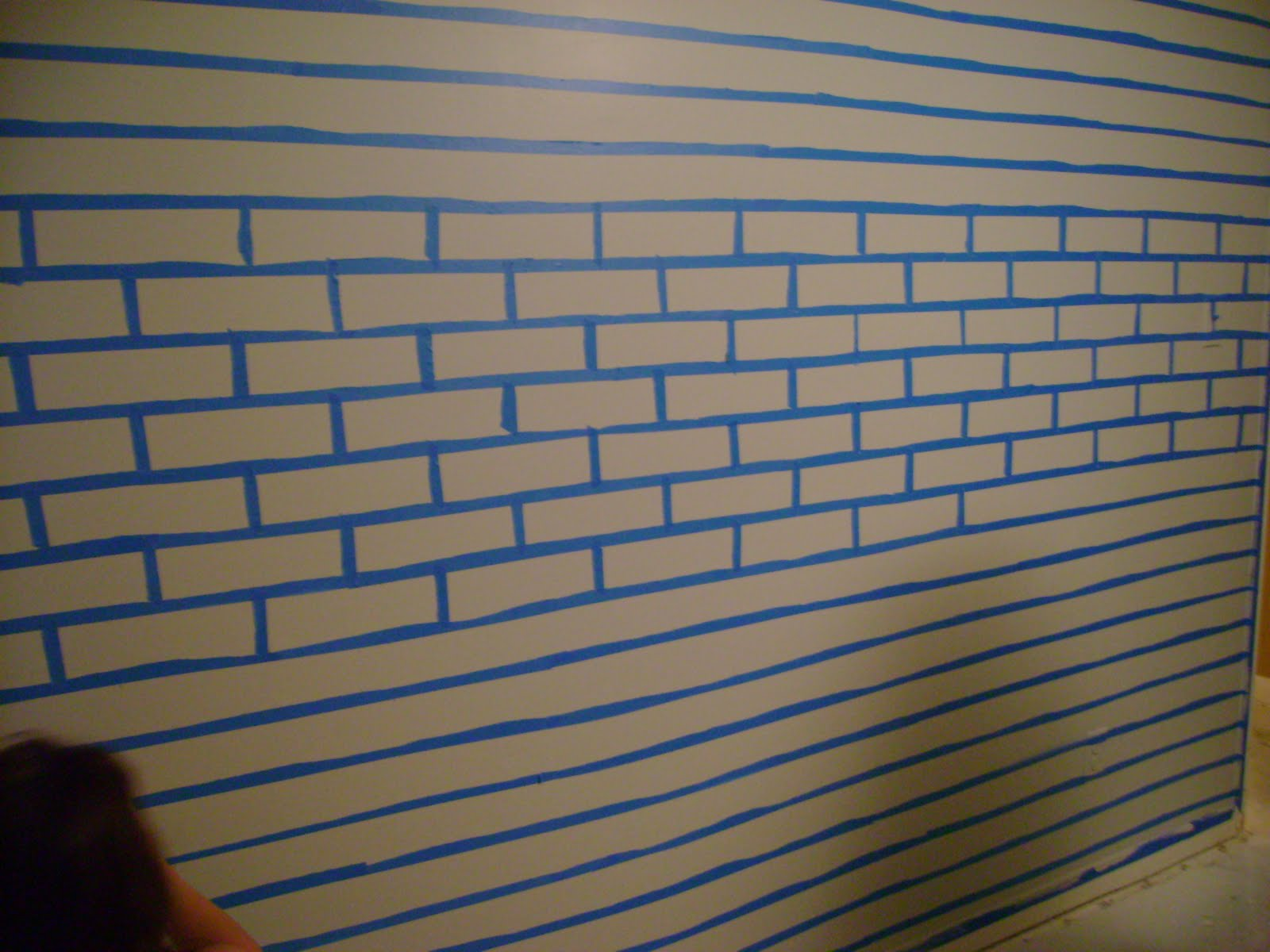 Faux Brick Wall Much Fun
