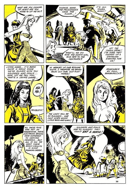 Atomic Kommie Comics: Reading Room: BARBARELLA 3.2