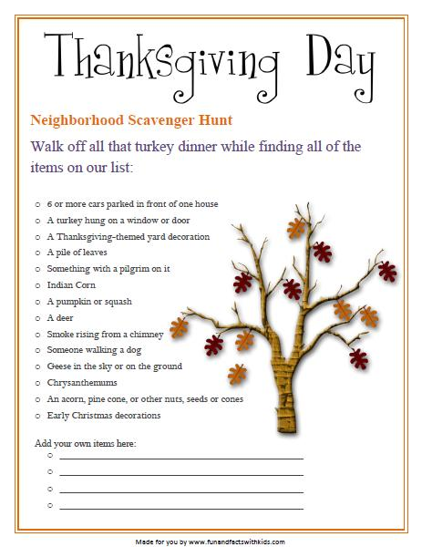 Thanksgiving All Year Long: Fun And Facts With Kids: Celebrating Thanksgiving With