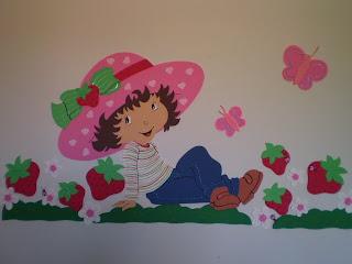 ARTES Luciana Reis: Painel do Moranguinho