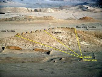 Pérou: Les treize tours de Chankillo seraient le plus ancien observatoire solaire du continent