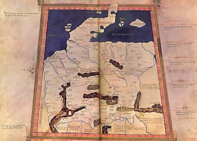 Des chercheurs de Berlin déchiffrent la carte de Ptolémée de la Germanie