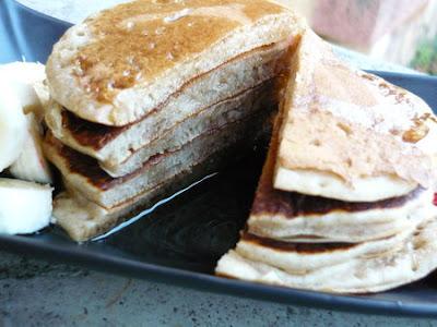 Pancake à la farine de sarrasin