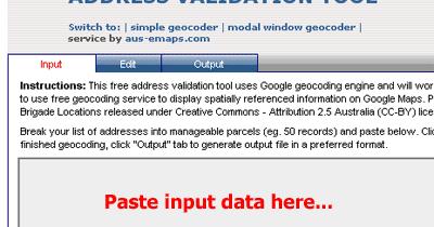 All-things-spatial: Free Address Validation Tool on google building inside, google address form, google tracking, google local, google marketing,