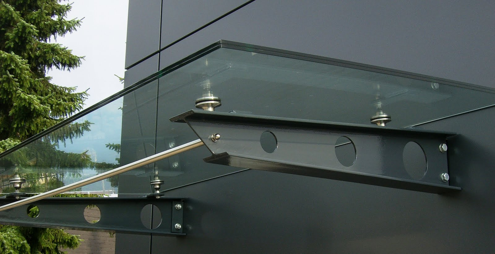 sonderangebote f r glasvordach glasvord cher glas. Black Bedroom Furniture Sets. Home Design Ideas