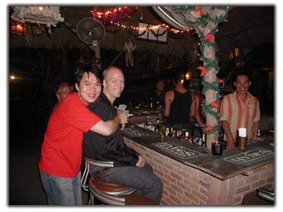 Gay bar in Chiang Mai Climbing Wall area