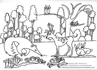 Dibujos para imprimir y colorear gratis para nios Dibujo para