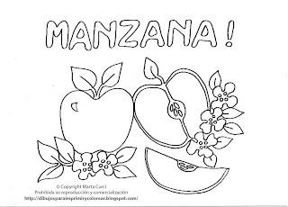 Dibujos para imprimir y colorear gratis para nios Dibujo de