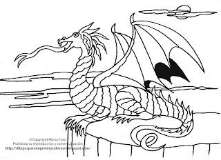Dibujos para imprimir y colorear gratis para niños: Dibujo para