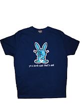 Tricou baieti Happy Bunny, Marimea M
