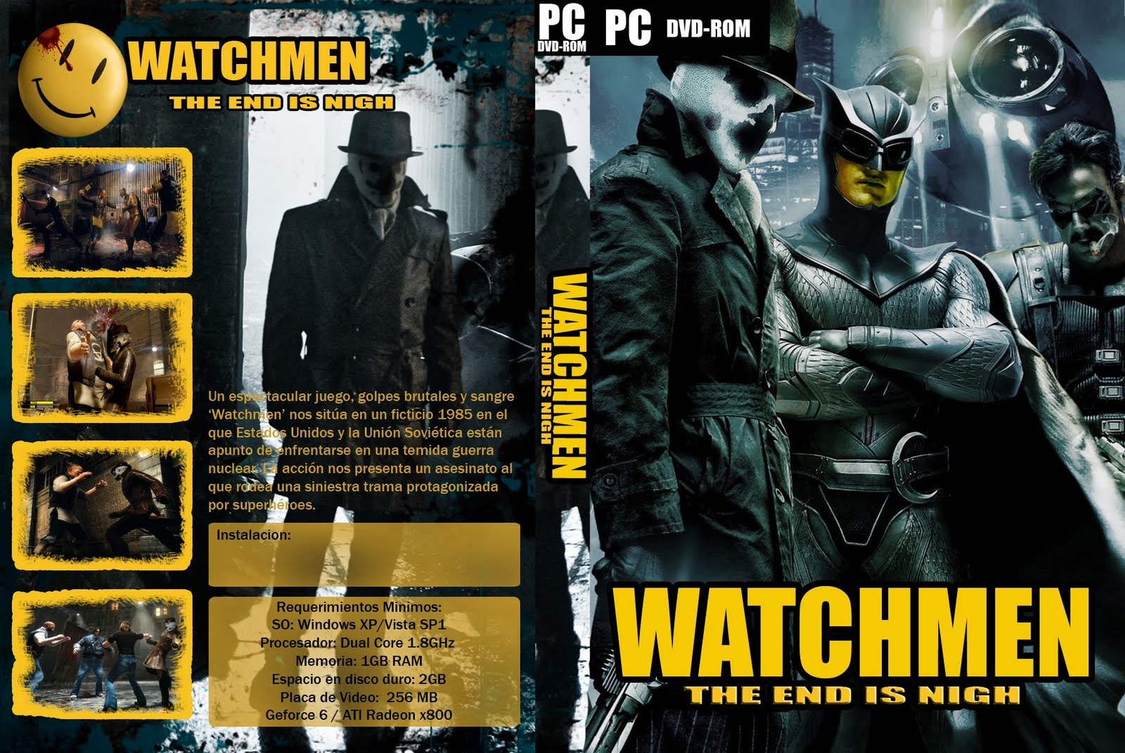 Watchmen the end is nigh cutscenes download